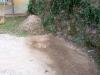 La grata di scolo delle acque piovane nuovamente funzionante 30/09/2011