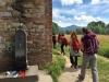2 viaggio a piedi da Lucca a Pisa Via degli Acquedotti piedi in cammino fie toscana